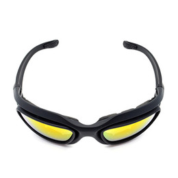 vision bicycle Coupons - Bicycle Cycling Glasses Polarizer Resin Outdoor Sport Windproof Eyewear Men Bike Motorcycle Night vision sandproof Glasses