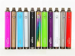 Wholesale e cig vision - Vision Spinner 2 II 1650mah Ego Twist Type Variable Voltage Battery W  Charger E Cig Electronic Cigarettes Fit 510 eGo atomizer Clearomizer