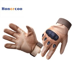 Wholesale Full Forces - Army Tactical Gloves Special Forces Motocycle Full Finger Combat Anti-cutting slip resistant Gloves