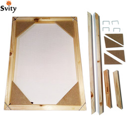 Wood frame for canvas oil painting nature wood DIY custom frame big size picture inner without the painting just the nereden