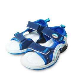 kids shoes pairs UK - New 1 Pair arch support Orthopedic Baby Sandals,Fashion summer open toe Kids Boy soft shoes