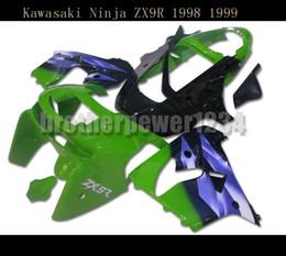 Wholesale kawasaki zx9r - New ABS Fairing Bodywork Body Kit for Kawasaki Ninja ZX9R 1998 1999