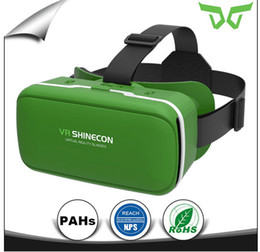 Wholesale games manufacturers - The original manufacturer of VR Shinecon VR 360 Viewing Immersive Virtual Reality 3D Headset Google Cardboard Games Glasses