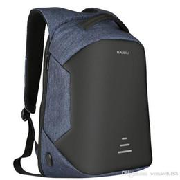 Wholesale Waterproof Business Backpack - 2017 Urban Backpacks Men USB Charge Laptop Backpack Minimalist Fashion Anti-theft Backpack Casual Mochila Waterproof Travel Bag