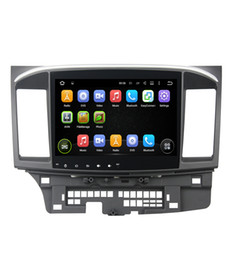 Wholesale Lancer Radio - Newest 10.1inch Octa Core Android 7.1 Car dvd gps player for MITSUBISHI LANCER 2008-2016 9 10 car radio video Stereo Audio navigation BT 4G