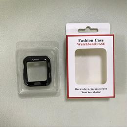 Белая бумага роскошная картонная упаковка коробка для iWatch случае с пластиковым внутренним лотком, пригодный для 38 мм 42 мм бесплатная доставка от
