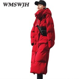 Wholesale Womens Long Down Hooded Parkas - Winter Jacket Women Parka 2018 Warm Female Overcoat Outwear Long Thicken oversize Down Cotton Womens Winter Jackets And Coats
