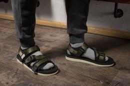 Wholesale Nice Sandals - 2018 Newest Nice Quality SUICOKE KISEEOK-044V Suicoke GGA-V   OG-052V Black Platform Sole Sandals Sandal SK052VBK