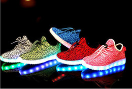 Wholesale Roller Skate Shoes Kids - Boys Girls LED Light Up Sport Flats Kids Luminous Sneakers Casual Shoes LED Light Heelys Roller Skate Shoes For Children Kids Sneakers