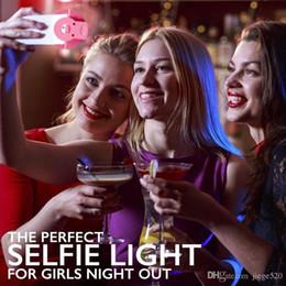 cámara de teléfono celular negro Rebajas Venta caliente recargable universal de lujo del teléfono inteligente LED Flash Light Up Up Selfie luminoso anillo de teléfono para iPhone para Android con carga USB