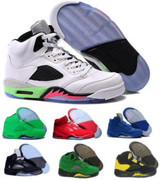 Wholesale day heating - Last Basketball Shoes Men Women 5 5s V Yellow Suede Cement Oregon Ducks Olympic Grape Raptors Pro Classic Fashion Tenni Sport Shoe Sneakers