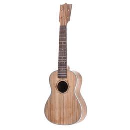 23in concert ukulélé ukulélé hawaï guitare kit bricolage zèbre bois corps palissandre touche ? partir de fabricateur