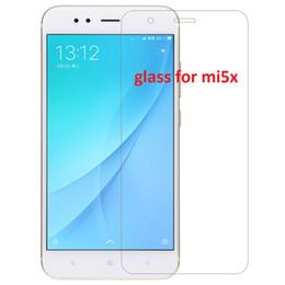 Wholesale Mi Glass - For xiaomi mi A1 Tempered Glass Screen Protector For xiaomi mi5x mi 5x Amazing H Nanometer Anti-Explosion Protective Film