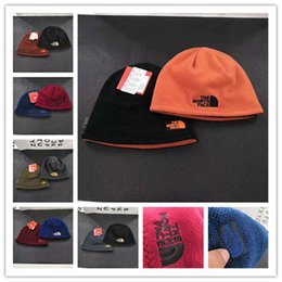 Unisex Brand NF skiing cap The north Reversible Beanie hats Face Fleece  Winter warm outdoor Beanies Skull Caps Hat Hip Hop streetwear sale f22fe72dea23