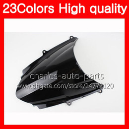 Wholesale Motorcycle Triumph - 23Colors Motorcycle Windscreen For Triumph Daytona 675 12 13 14 Daytona-675 Daytona675 2012 2013 2014 Chrome Black Clear Smoke Windshield