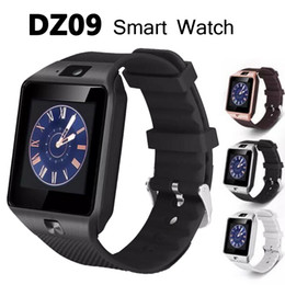 Wholesale Fashion Cameras - Fashion DZ09 Bluetooth Smart Watch 1.56'' Sync SIM Card Phone Wristwatch Smartwatch for Android IOS iPhone 6 5 Samsung Phone VS U8 GV18 LX36