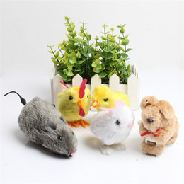 Wholesale cute toddler toys - Wind Up Toys Multi Design Cute Animal Toddler Early Education Chick Walking Toy Clockwork Developmental Tool Free Shipping 1 58rz Z