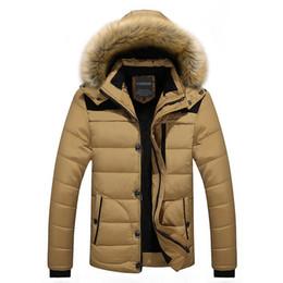 Argentina Abrigo de invierno caliente caliente hombres con capucha Casual delgado hombre chaqueta de invierno para hombre Outwear supplier xs men jacket Suministro