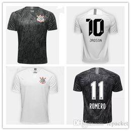 JADSON 2018 2019 Corinthian jersey soccer home white 3RD JO M.GABRIEL KAZIM  CAMACHO Brazil club TOP QUALITY 18 19 away black Football Shirt fa3a33225
