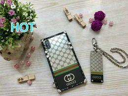 роскошные телефоны дешево Скидка Wholesaele дешевый бренд роскошный телефон чехол для Iphone X Iphone 9 Iphone7 / 8Plus Iphone7 / 8 Iphone 6 / 6sP дизайнер телефон чехол