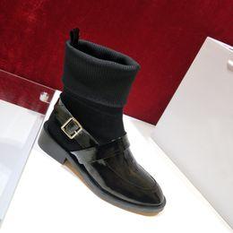 dekorative schuhschnallen Rabatt Glvenc Frankreich Luxus Herbst Und Winter Low Top Martin Stiefel Weiblich Britischen Stil Metall Schnalle Dekorative Stiefel Wild Tide Schuhe für Frauen