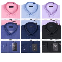 Wholesale Business Products - New products 2018 Brand Men's Business Casual shirt mens long sleeve striped slim fit camisa masculina social male shirts new fashion shirt
