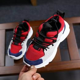Wholesale Li Ning Sneakers - 2018 children shoes spring new breathable children sports shoes boys sneakers girls color running shoes wholesale