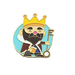 Chapado en oro Soft Enamel Cartoon Pin Middle East Fairytale Enamel Pin desde fabricantes