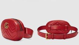 Wholesale Stud Handbags - fashion top quality Animal Studs Leather Belt Bag Women Velvet Belt Bag Designer Mini Sport Waist Bags Handbags Free Shipping