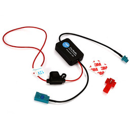 Wholesale 12v Car Antenna - Auto FM AM Antenna Booster Windshield Mount Antenna Aerials Car Aerial Antenna 12V Car Automobile Radio Signal Amplifier