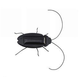 Nuevo juguete Niños Juguetes Solares Energía Energía Cucaracha Solar 6 Piernas Negro Niños Insecto Bug Enseñanza Diversión Gadget Juguete de Regalo Para Niños desde fabricantes