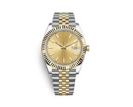 Cajas de liquidación online-Con caja original Estilo 14 Reloj de lujo Datejust Mecánico de acero inoxidable Movimiento automático Relojes para hombres Deportes Relojes automáticos