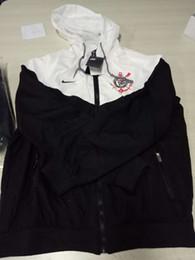 Corinthians clube new arrivals mens clothing designer jaqueta primavera sportswear para o sexo masculino blusão com capuz zipper up jacket de Fornecedores de jaquetas de militare aeronáutica