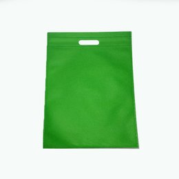 0542ef026c 100x Plastic bags custom made clothing bag with hanlde flat shopping bag  30x40cm customized LOGO printing