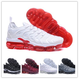 Wholesale shoes casual men lowest price - Daily Discount Wholesale Price 2018 Good Quality New TN Plus Running Shoes Classic Outdoor Running Shoes Steam tn Black White Sports Casual