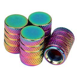 Cubierta de rueda de metal online-Motocicleta Car-styling Válvula de Ventilón de Neumáticos de Aluminio Cubierta de Neumático de Rueda Universal Tapas de Válvula de Neumáticos de Coche 4 Unids Cubierta de Polvo Perno de Metal