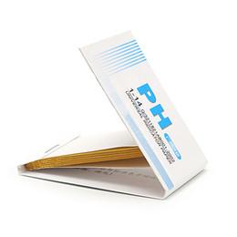 Ph kit de tiras reactivas litmus online-1x 80 tiras de pH completo 1-14 Test Indicator Paper Kit de prueba de tornasol