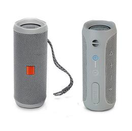 Wholesale Flip Speakers - New WWireless Bluetooth Small Speaker Music Kaleidoscope 4 Audio Waterproof Power Sound Supports Multiple Portable Flip 4 PK flip3