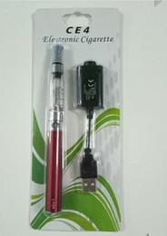 luci rosse ems Sconti Sigaretta elettronica EGO Set all'ingrosso EGO-CE4 Confezione blister X6 Sigaretta elettronica Set CE4 Nebulizzatore Capacità batteria 1100 mA