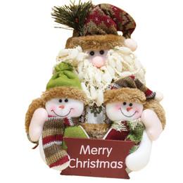 black bear home decor coupons 2017 christmas ornaments for home santa claus snowman bear doll - Black Bear Christmas Decor