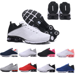 purchase cheap 50c92 9d5f5 2019 homme chaussure de course shox Date Hommes Shox 628 Designer  Chaussures Or Airs Coussin Hommes