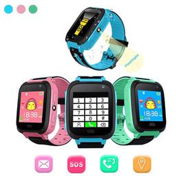 Reloj inteligente para niños Q9 Niños Relojes inteligentes anti-perdida Smartwatch LBS Tracker Mira la llamada SOS para Android IOS El mejor regalo para niños desde fabricantes