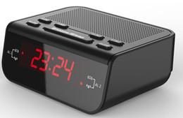 Receptor de alarme on-line-Despertador eletrônico de cabeceira e receptor de rádio Receptor de rádio FM / AM portátil com Display de LED digital Wakener final