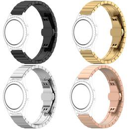 Argentina Accesorios del reloj de la correa de muñeca de la correa de reloj del reemplazo del acero inoxidable de 20m m para Sansung Gear Sport S2 clásico para el AMAZFIT de Huawei cheap wrist watch accessories Suministro