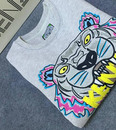 Hot Men Women Embroidere tiger logo sweater tracksuits jumper jacket Women's Hoodies & Sweatshirts