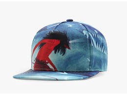 Женские шляпы онлайн-Горячий тип мужчины женщины пара бейсболки 3D печати шапки хлопок дышащий зонт