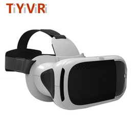 Wholesale Helmet Google - VR 3D Headset VR Virtual Reality Glasses Box 2.0 Google Cardboard 3D Goggles Helmet For 3.5-6.0 inch Smartphone video game