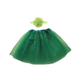 Canada Joli bébé volants en mousseline de soie Bloomer Tutu robe Infant Toddler coton en soie soie jupe shorts enfants couches jupe avec bandeau ensemble Kit Offre