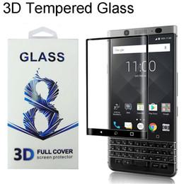 Tam Kapak 3D Kavisli Kenar Blackberry Keyone Blackberry Key2 Için Perakende Paketi ile iki Priv Temperli Cam Ekran Koruyucu 0.2 MM nereden