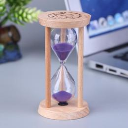 Reloj de arena de madera reloj de arena 3 minutos reloj de arena reloj de arena niños cepillo de dientes temporizador contador de tiempo regalo de los niños decoración del hogar desde fabricantes